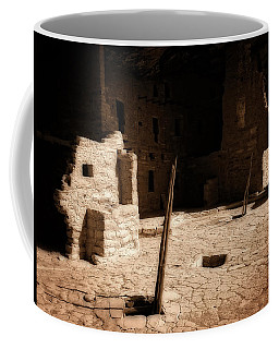 Coffee Mug featuring the photograph Ancient Sanctuary by Kurt Van Wagner