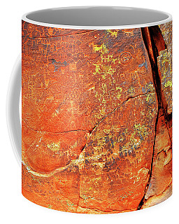 Coffee Mug featuring the photograph Ancient Scribeing by Howard Bagley