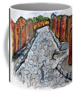 Ancient Street, Pompeii Coffee Mug