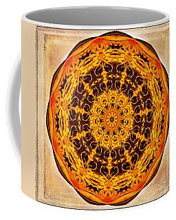 Ancient Sun Kaleidoscope Coffee Mug
