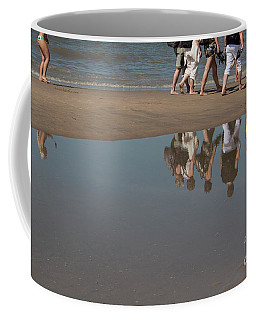 Coffee Mug featuring the photograph And So They Followed by Ana Mireles