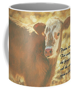 And The Cattle Coffee Mug by Janice Rae Pariza