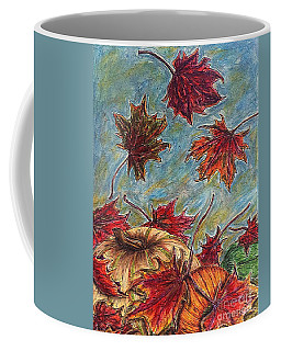 And The Leaves Came Tumbling Down Coffee Mug