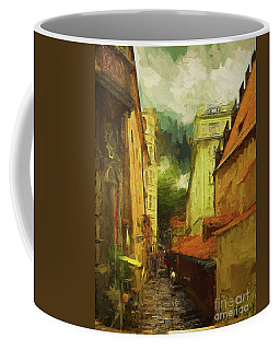 Coffee Mug featuring the photograph And Then It Rained by Leigh Kemp