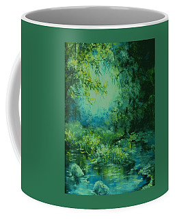 And Time Stood Still Coffee Mug by Mary Wolf