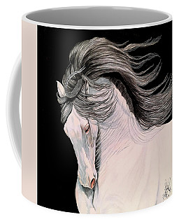 Andalusian In Color Pencil Coffee Mug