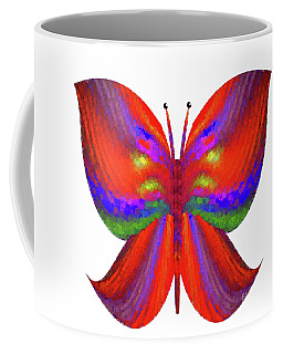 Coffee Mug featuring the digital art Andee Design Abstract 2 2015 by Andee Design