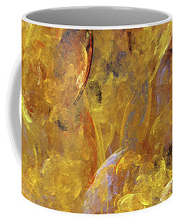 Coffee Mug featuring the digital art Andee Design Abstract 51 2017 by Andee Design