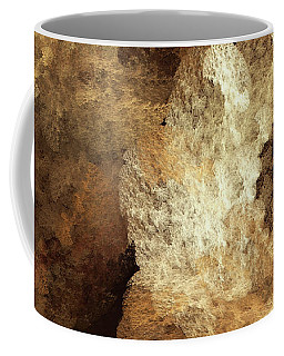 Coffee Mug featuring the digital art Andee Design Abstract 52 2017 by Andee Design