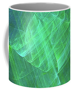 Coffee Mug featuring the digital art Andee Design Abstract 53 2017 by Andee Design