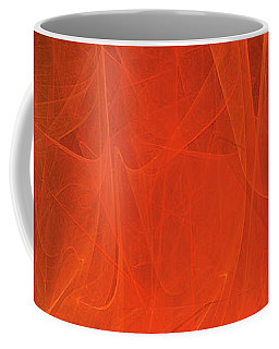 Coffee Mug featuring the digital art Andee Design Abstract 54 2017 by Andee Design