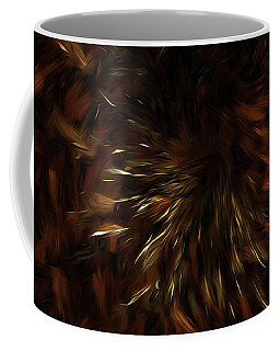 Coffee Mug featuring the digital art Andee Design Abstract 57 2017 by Andee Design