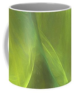 Coffee Mug featuring the digital art Andee Design Abstract 58 2017 by Andee Design