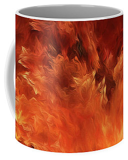 Coffee Mug featuring the digital art Andee Design Abstract 59 2017 by Andee Design