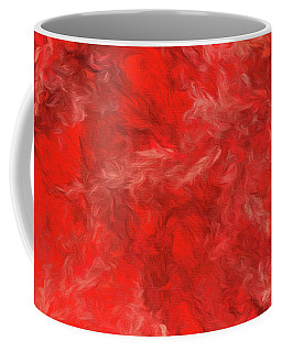 Coffee Mug featuring the digital art Andee Design Abstract 6 2015 by Andee Design