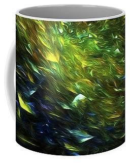 Coffee Mug featuring the digital art Andee Design Abstract 63 2017 by Andee Design
