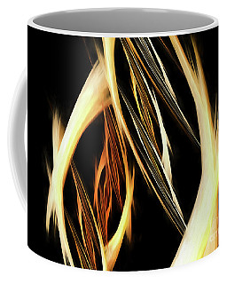 Coffee Mug featuring the digital art Andee Design Abstract 65 2017 by Andee Design