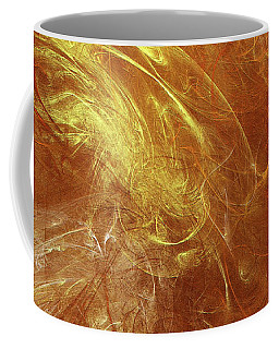 Coffee Mug featuring the digital art Andee Design Abstract 68 2017 by Andee Design