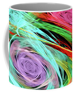 Coffee Mug featuring the digital art Andee Design Abstract 7 2015 by Andee Design