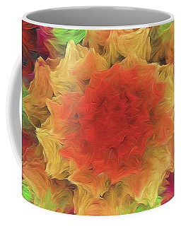 Coffee Mug featuring the digital art Andee Design Abstract 70 2017 by Andee Design