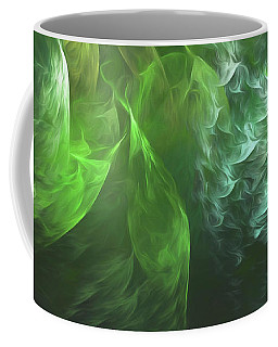 Coffee Mug featuring the digital art Andee Design Abstract 72 2017 by Andee Design