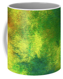 Coffee Mug featuring the digital art Andee Design Abstract 78 2017 by Andee Design
