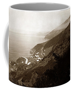 Anderson Creek Labor Camp Big Sur April 3 1931 Coffee Mug