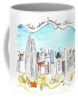 Andes Above Santiago Coffee Mug