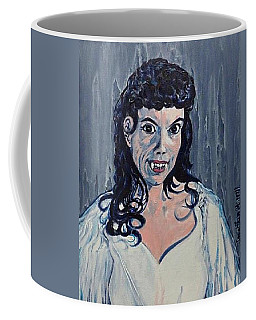 Andree Melly As Gina In The Brides Of Dracula  Coffee Mug