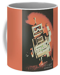 Android Short Circuit  Coffee Mug