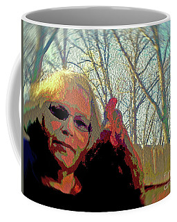 Andy And Me Coffee Mug by Donna Brown