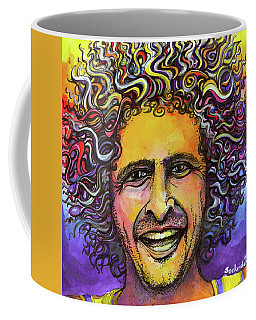 Coffee Mug featuring the painting Andy Frasco by David Sockrider