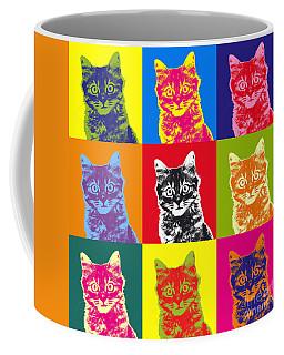 Andy Warhol Cat Coffee Mug