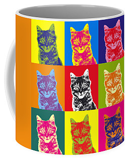 Andy Warhol Cat Coffee Mug
