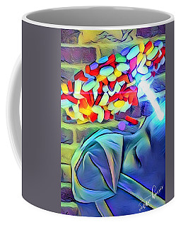 Anesthetized  Coffee Mug by Vennie Kocsis