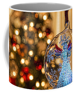 Coffee Mug featuring the photograph Angel Aglow by Bill Kesler