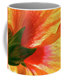 Coffee Mug featuring the photograph Angel Brushstrokes  by Marie Hicks