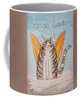 Angel Cat Coffee Mug