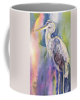 Angel Heron Coffee Mug