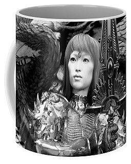 Angel In Black And White Coffee Mug