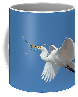 Angel In Flight Coffee Mug by Fraida Gutovich