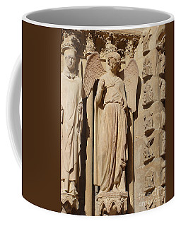 Angel In Reims Coffee Mug