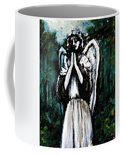 Angel In The Garden Coffee Mug