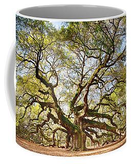 Angel Oak In Spring Coffee Mug