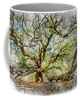 Angel Oak Mixed Media Coffee Mug