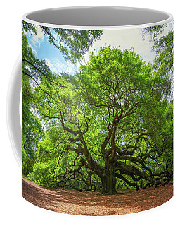 Angel Oak Tree In South Carolina  Coffee Mug