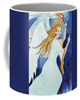 Angel Of Illumination Coffee Mug