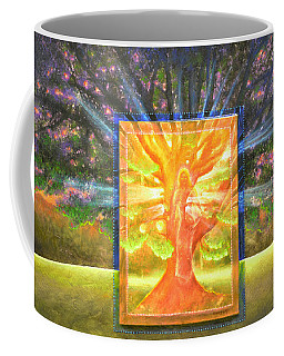 Angel Of The Trees Coffee Mug