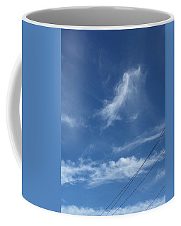 Angel Over Two Notch Road Coffee Mug
