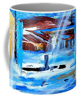 Angel Over Water Coffee Mug